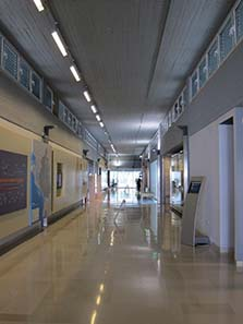 The interior of the museum of Ioannina. Photograph: KW.