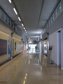 Das Innere des Museums von Ioannina. Foto: KW.