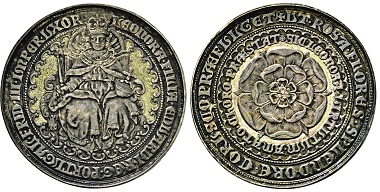 "Nr. 4108: Prag. Sog. ""Prager Judenmedaille"". Anfang 17. Jh. Taxe: 750 Euro."