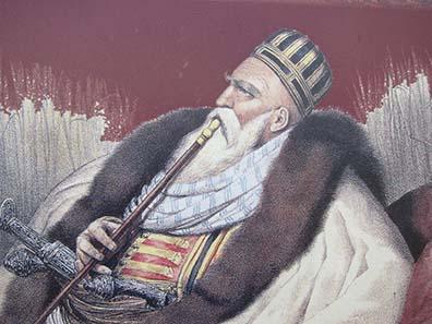 Ali Pasha, Lion of Yannina. Photograph: KW.