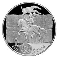 Latvia / 5 euros / silver .925 / 22 g / 35 mm / Design: Arvids Priedite and Ligita Franckevica / Mintage: 2,500.