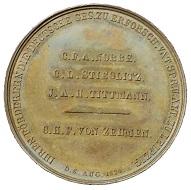 Bronzemedaille Carl Friedrich von Posern-Klett, 1849.