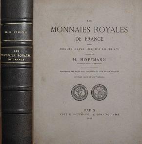 Lot 408: Hoffmann (1878): Les monnaies royales de France.