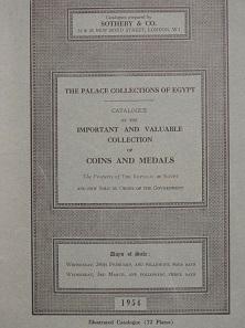 Lot 984: Auction catalogue collection Farouk.