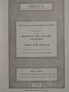 Los 984: Auktionskatalog Sammlung Farouk.