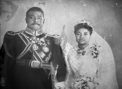 George Tupou II marries the mother of Salote Tupou.