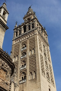 A bell tower named Giralda. Photo: KW.