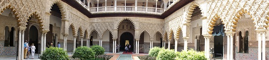 An impressive building with places of strong Moorish influence. Photo: KW.