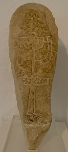 Stele with image of an idol from the 10th-7th century BC. Photo: KW.