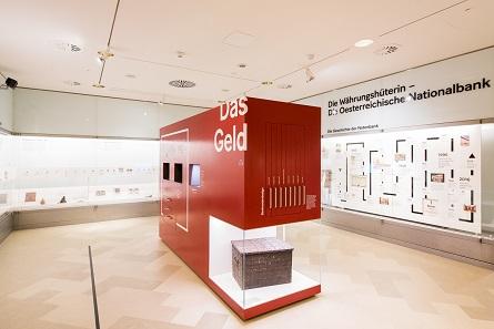 Blick in die neue Ausstellung. Foto: OeNB © Michael Gruber.