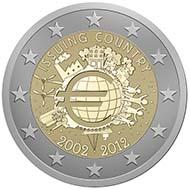 Die neue 2-Euro-Münze von Helmut Andexlinger.