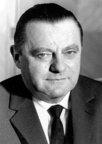 Franz Josef Strauß, zweiter Bundesminister der Verteidigung vom 16.10.1956 bis 11.12.1962. © Bundeswehr/Archiv.