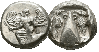 Caria. Kaunos. Stater, 450-430 BC. extremely fine.