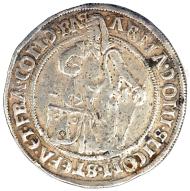 Österreich/Römisch Deutsches Reich. Stephan und seine Brüder (1510-1528). 1/2 Taler o. J. und ohne Münzzeichen, Joachimstal. ss. Ausruf: 1.000 Euro.