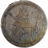 Brandenburg-Preußen. Friedrich Wilhelm der Große Kurfürst (1640-1688), Breiter doppelter Reichstaler 1651, CM, Königsberg. Patina, leichte Randmängel. ss. Ausruf: 2.500 Euro.