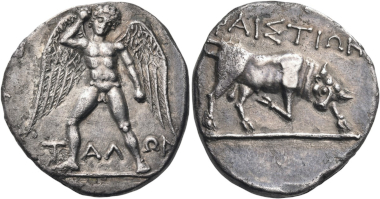 Lot 147: Crete. Phaistos. Stater, circa 320-300 BC. Extremely fine. Estimated: 60,000 CHF.