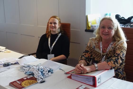 Die Organisation, geleitet von Christel Swan und ihrer Tochter Romina, war perfekt. Foto: UK.