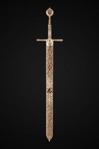 The sword of a duke of Württemberg, 1495. Landesmuseum Württemberg, Stuttgart.