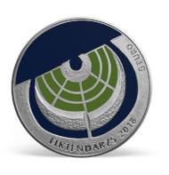 Latvia / 5 euros / silver .925 / 31.47 g / 38.61 mm / Design: Franceska Kirke / Mintage: 3000.