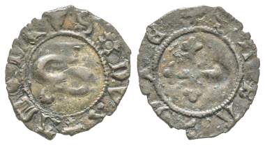 Amedeo VIII., 1391-1434. Bianchetto. MIR 149 (R8). Extremely rare. Extremely fine. Estimate: 600 euros. From Gadoury Auction (November 17, 2018), no. 1448.