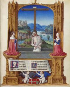 Jean Colombe, Très Riches Heures du duc de Berry. Ms65, f. 75f.