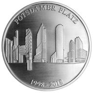 Die Gedenkprägung in .333 Silber hat einen Durchmesser von 32,5 g und ein Gewicht von 9,2 g.