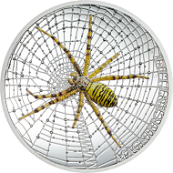 "Between fascination and horror. According to statistics, young people consider spiders among the 10 most popular and interesting animals in the world. The wasp spider issued by CIT in 2016 as part of the series ""Magnificent Life"" is so lifelike that arachnophobes are advised against buying it"