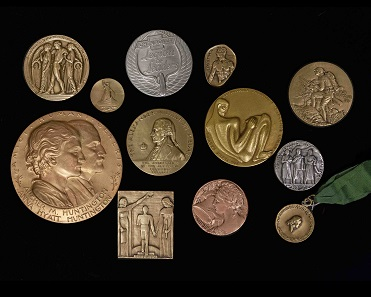 A selection of MACO medals.