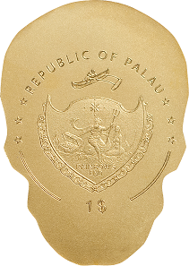Palau / 1 dollar / gold .9999 / 0.5 g / 13.92mm / Mintage: 15,000.