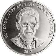 Die Gedenkprägung auf den neuen Bundesratspräsidenten erscheint in .333 Silber und einer Auflage von 1.000 Stück.