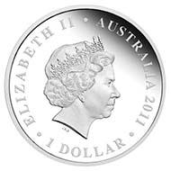 Australia - 1 AUD - 1oz 999 silver - 31.135 g - 40.6 mm - Mintage: 5.000 - Designer: Wade Robinson.