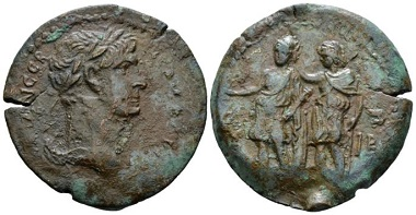 Lot 261: Egypt, Alexandria. Trajan, 98-117. Drachm, circa 108-109 (year 12). Apparently unique. From the Dattari collection. Very Fine/Good Very Fine. Starting bid: 700 GBP.