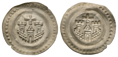 Los 147: Ravensburg. Brakteat, um 1265.
