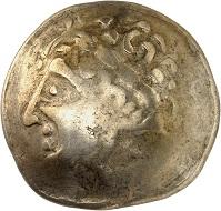 No. 8. Celtic coins. Helvetii. Electrum stater. Very rare. Very fine. Estimate: 2,400 euros.