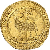 No. 865. France. John II the Good, 1350-1364. Mouton d'or, n.d. Extremely fine to FDC. Estimate: 2,500