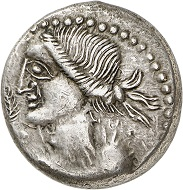 No. 2015. Celts / Boii. Busu. Tetradrachm, 1st century B. C. Rare. Almost extremely fine / Very fine. Estimate: 2,500 euros. Realized: 7,500 euros.