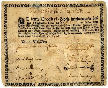 Schweden, 10 Daler Silvermynt, 1666.