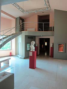 Eingangshalle des Museums in Beroia. Foto: KW.