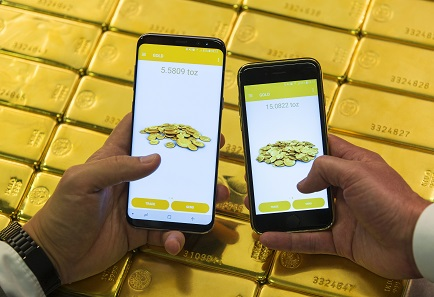 The Perth Mint has made buying and selling gold available at the touch of a button.
