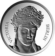 """Zu Großbritanniens Austritt aus der EU prägt die Münze Berlin die """"Brexit Coin"""", eine Gedenkprägung in .333 Silber (32,5 mm / 9,2 g)."""