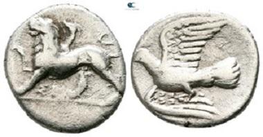 Sikyon. Triobol-Hemidrachm, circa 330-280 BC. Very fine.