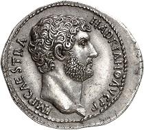 Nr. 44: Hadrian, 117-138. Cistophor, nach 128, Nikomedia. Aus Auktion Leu 18 (1977), Nr. 330 (Titelstück). Eine außergewöhnliche Münze auf breitem Schrötling aus einem herausragenden Stempel. Vorzüglich. Ausruf: 125.000,- CHF.