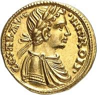 Nr. 477: Italien / Sizilien. Friedrich II., 1197-1250. Halbaugustalis, undatiert (1231-1250), Brindisi. Vom feinsten Stil. Das schönste bekannte Exemplar. Vorzüglich. Ausruf: 50.000,- CHF.