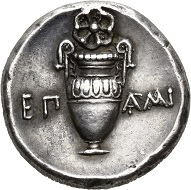 Thebes. Stater of Epaminondas, before 362. Extremely fine. Estimate: 7,500,- CHF. From Hess Divo AG Auction 335 (2018), no. 37.