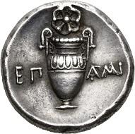 Theben. Stater des Epaminondas, vor 362. Vorzüglich. Taxe: 7.500,- CHF. Aus Auktion Hess Divo AG 335 (2018), Nr. 37.