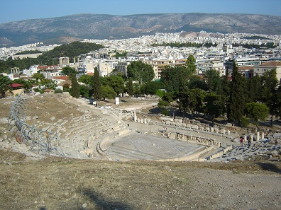 The Theater of Dionysus in Athens. Photo: BishkekRocks.