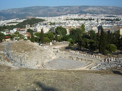 Das Dionysos-Theater von Athen. Foto: BishkekRocks.