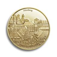 Die Auflage des Weihnachtsthalers in Gold ist auf 200 Stück begrenzt.
