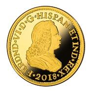 Spain / 50 euros / gold .999 / 3.375 g / 19 mm / Mintage: 2,500.