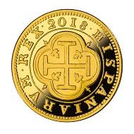 Spain / 100 euros / gold .999 / 6.75 g / 23 mm / Mintage: 2,000.